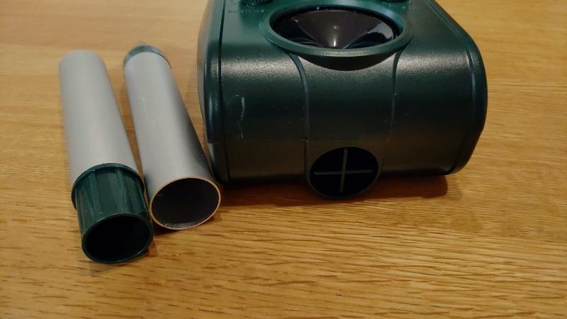 ソーラー式猫よけセンサー コンクリート置き設置対応 -5-