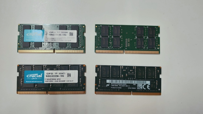 iMac 2017 メモリー増設 64GB -2-