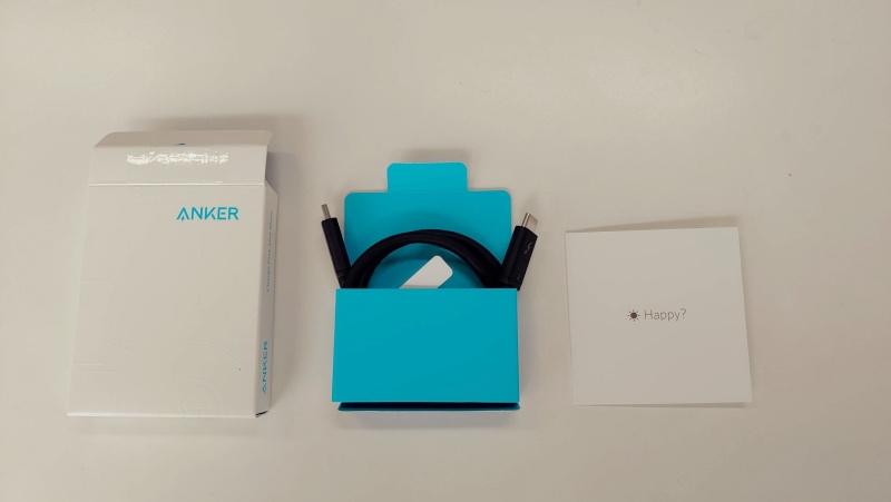 iMac Anker USB-C - USB-C Thunderbolt 3 Cable -50cm- -2-