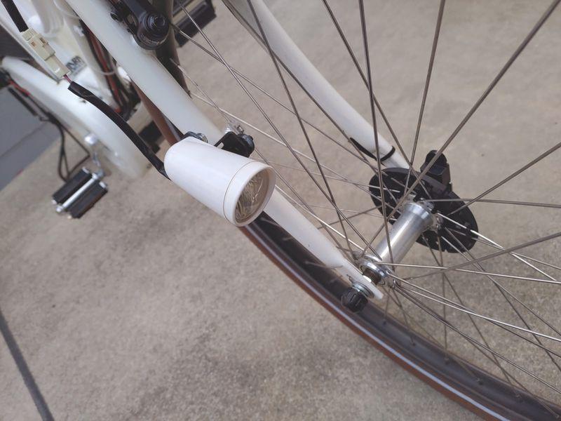 HYDEE2 電動自転車 カゴ交換 ライト交換 フェンダー交換 -9-