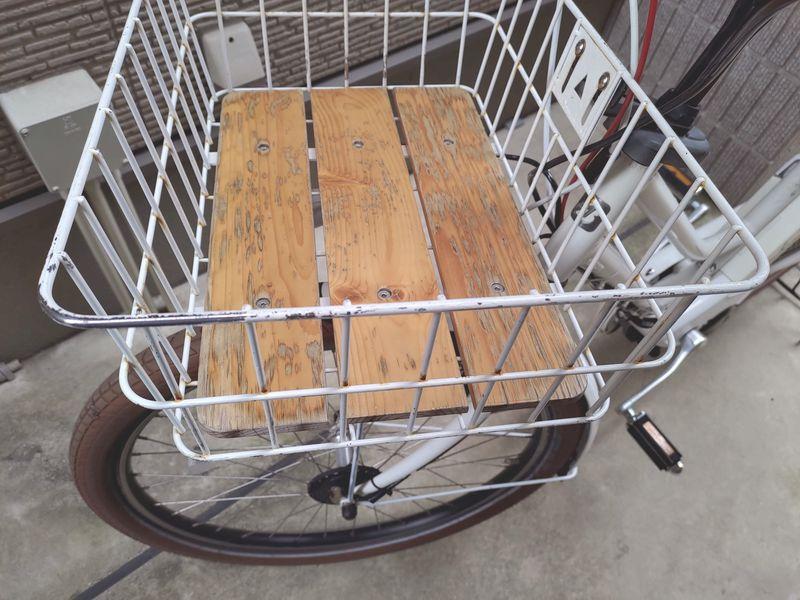 HYDEE2 電動自転車 カゴ交換 ライト交換 フェンダー交換 -1-