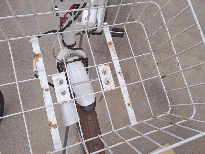 HYDEE2 電動自転車 カゴ交換 ライト交換 フェンダー交換 -4-