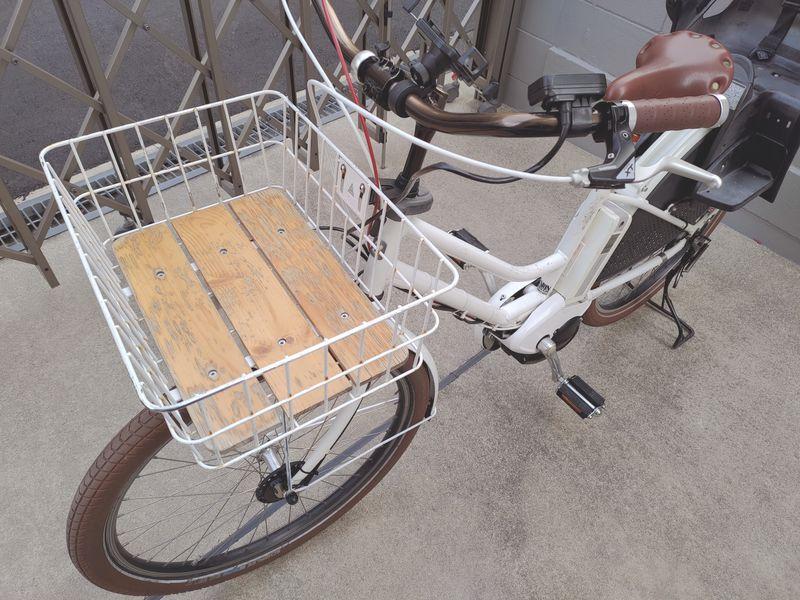 HYDEE2 電動自転車 カゴ交換 ライト交換 フェンダー交換 -2-