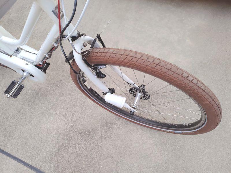 HYDEE2 電動自転車 カゴ交換 ライト交換 フェンダー交換 -10-