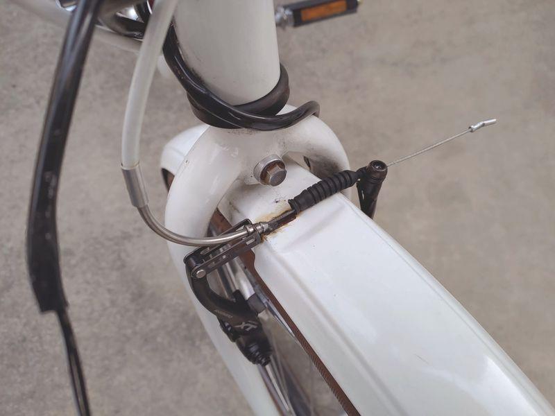 HYDEE2 電動自転車 カゴ交換 ライト交換 フェンダー交換 -5-