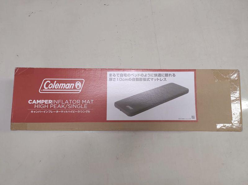 コールマン Coleman キャンパーインフレーターマットハイピークシングル -3-