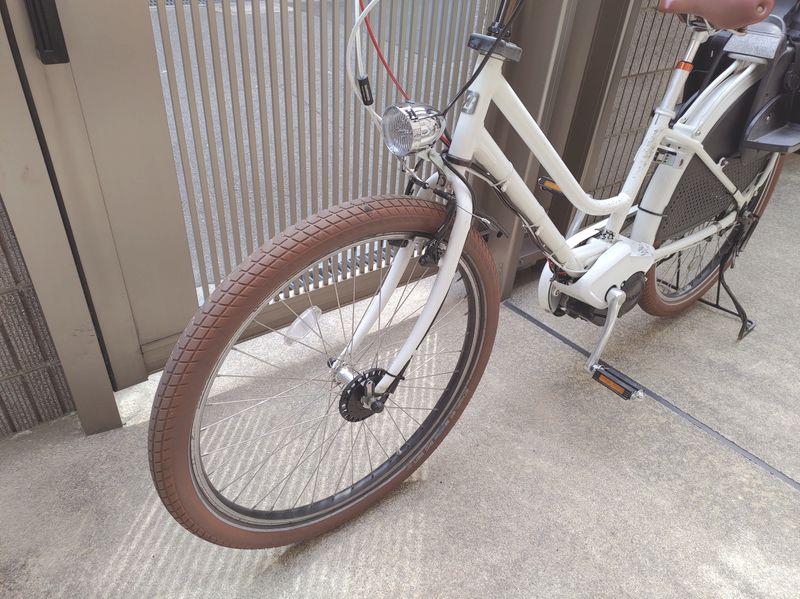 自転車ライト交換2 -1-