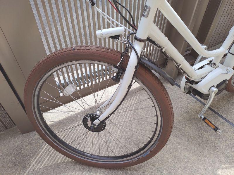 自転車ライト交換2 -3-