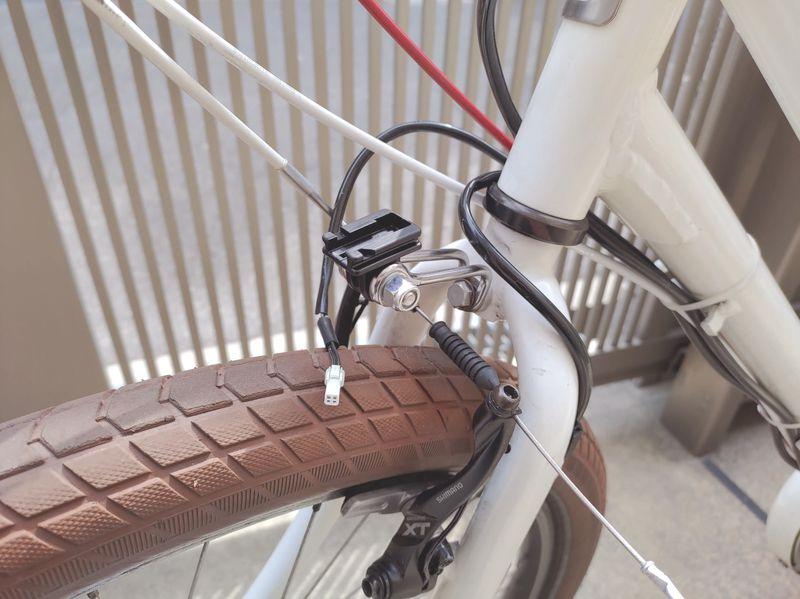 自転車ライト交換2 -2-