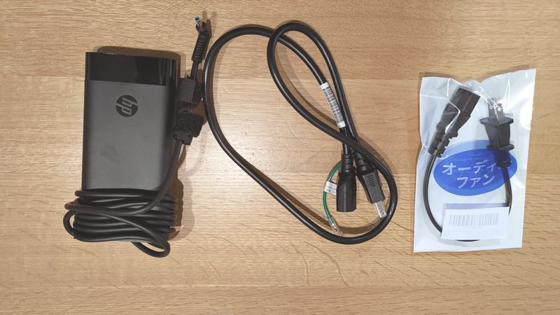 HP ENVY 15のACアダプターケーブルを交換_112940