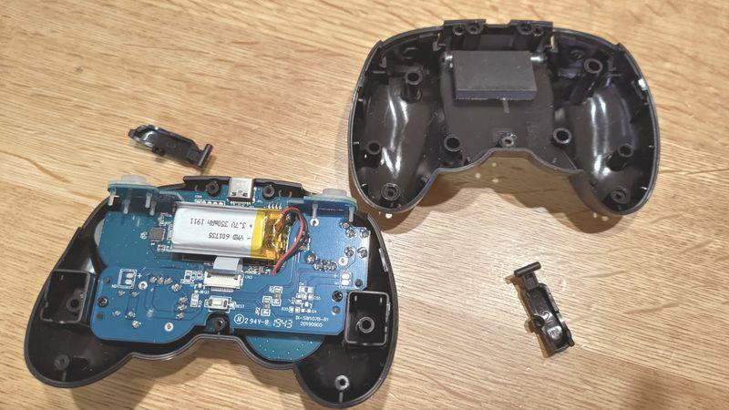 任天堂switch proとサイバーコントローラーの違い 03