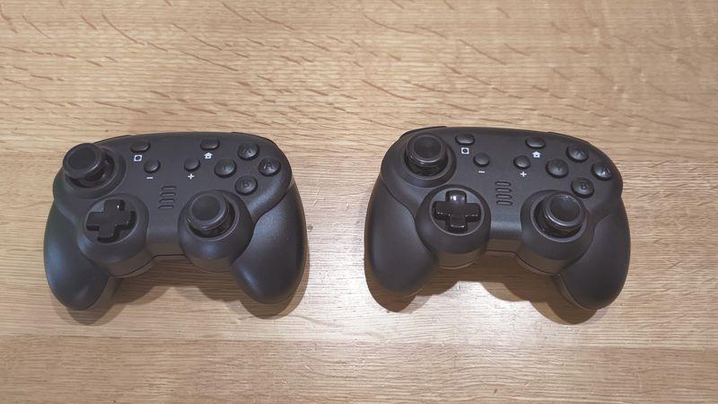任天堂switch proとサイバーコントローラーの違い 07