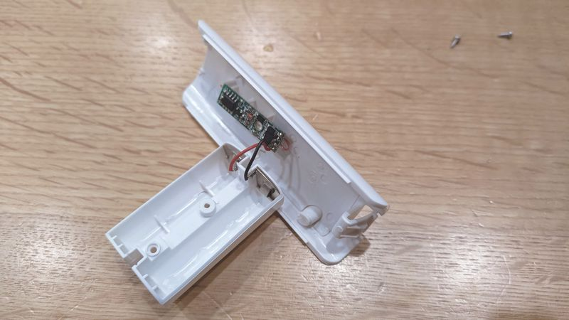 Wii U用リモコンの非接触充電 電池交換 08