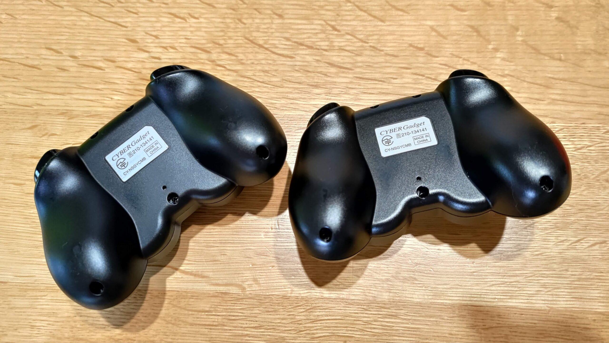 任天堂switch proとサイバーコントローラーの違い 02