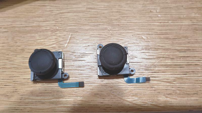 任天堂Switchコントローラーのドリフトを修理4