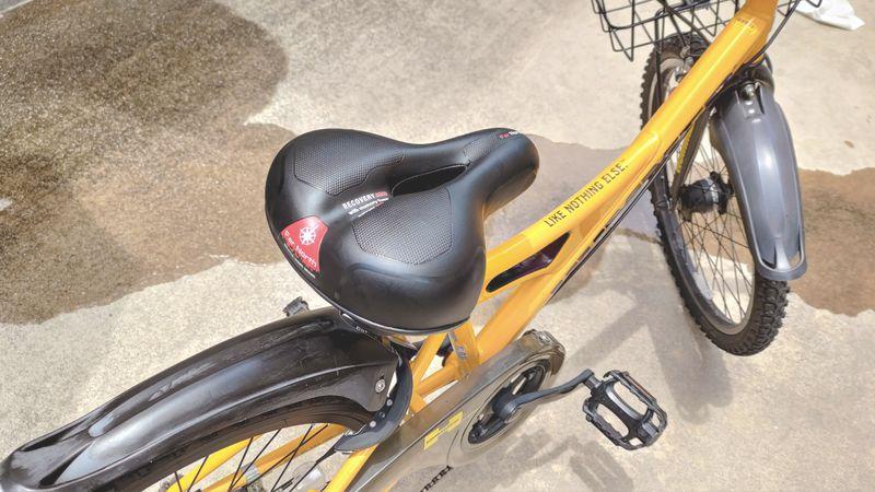 子供自転車のシートを交換・修理する7