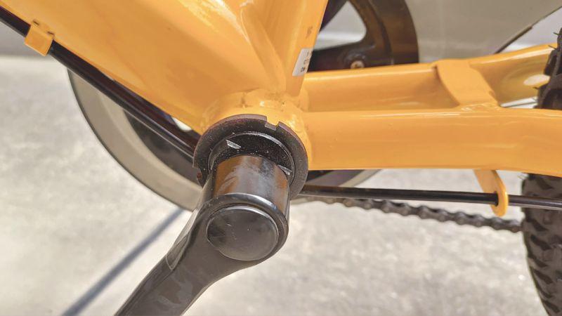 子供自転車のシート・ポストを交換する4